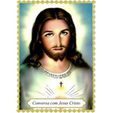 Santinhos Conversa C/ Jesus Cristo - 1.000 Un + Brinde