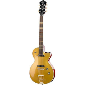 Guitarra Eléctrica Hofner Hct-club Gold Top Nueva Garantia