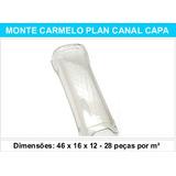 Telha Monte Carmelo Plan Canal Capa Pet Transparente