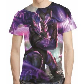 Camisa League Of Legends Camiseta Illaoi Vazio Estampa Total
