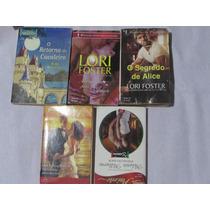 Lote De 5 Romance Da Harlequin A Abril Cultural