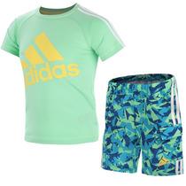 Conjunto Playera Con Short Beach Bebe Adidas S17167