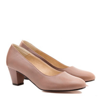 Zapatos Cuero Linea Confort Taco Medio Art 2400 - Tallon