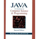 Java:computer Science & Programming - Savitch 2°ed - Canjes!