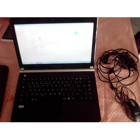 Vendo Notebook Qbex Tela 15 Pol. Processador Amd C 60