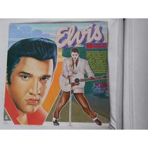 Lp Vinil Elvis 10 Anos De Saudades Coletânea 1987 Som Bom