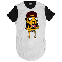 Camiseta Hora Da Aventura Swag Dope Hiphop Gold Kings Camisa