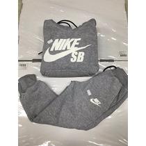 Moletom Infantil Conjunto Nike De Frio,com Calça E Blusa