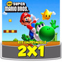 Kit Imprimible Super Mario Bros Cotillón Cumpleaños Infantil