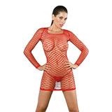 Lenceria Mujer - Vestido Erotico De Red - Sex Shop