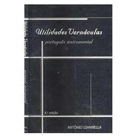 Livro Utilidades Vernáculas - Português Instrumental
