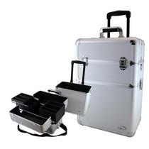 Maleta Grande 14067 Frasqueira Em Aluminio Jacki Design