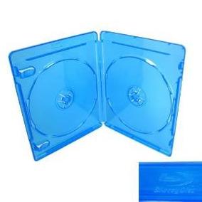 10 Caja Azul Para Cd Caja De Discos Blu-ray Dvd De La Pelícu