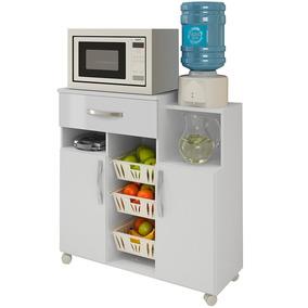 Armário Para Cozinha Com Fruteira Jandaia Branco