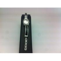 Reloj De Plata 925 Con Piedras De Zirconia Para Dama