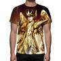 Camisa, Camiseta Cavaleiro Do Zodíaco Seiya - Estampa Total