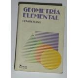 Libro Geometría Elemental Hemmerling ¡oferta!