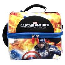 Lonchera Termica Escolar Capitan America Marvel Ruz 90318