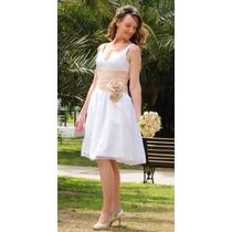 Vestido De Novia Corto Super Moderno Y Elegante