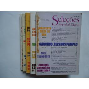 05 Revistas Seleções Do Readers Digest De 1982