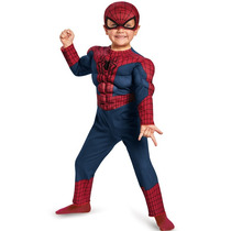 Disfraz Spiderman Bebé Hombre Araña 2 Años Entrega Inmediata