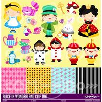 Kit Imprimible Alicia El Pais De Las Maravillas Cod 8