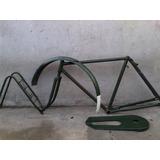 Bicicleta Antigua Cuadro Antiguo Tipo Ingles Completo R 26