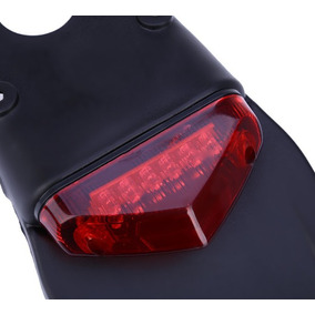Lanterna Led Universal P/ Motos Rabeta Led Moto De Trilha
