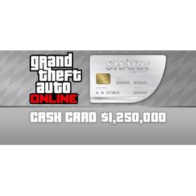 Gta V Pc Online Great White Shark Cash Card - 1.250.000