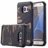 Carcasa Samsung Galaxy S7 S7 Edge Camuflaje Tpu Silicona