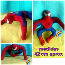 Peluche Spiderman Regalo Bolo Fiesta Dulcero