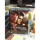 Dvd Sobrenatural Supernatural 3ª Temporada 5 Discos