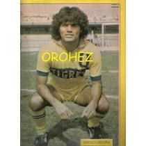 Revista Futbol México Balón Tigres Uanl Sergio Orduña 1981