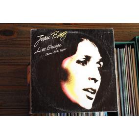 Joan Baez Live Europe Lp Vinilo Argentina Original