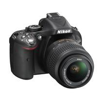 Câmera Nikon D5200 Kit 18-55mm + Bolsa+32gb+minitripe C/ Nf