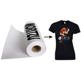 Vinil Textil De Tela Para Imprimir Foto Con Plancha,novedad