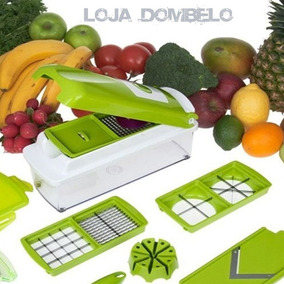 Nicer Dicer Plus Cortador Fatiador Legumes E Porta Temperos