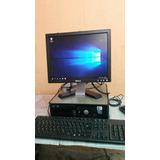 Computador Completo Dell Core 2duo Cpu Y Monitor 17 A 175.00
