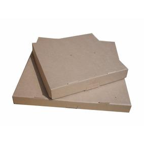 50 Cajas Para Pizza 30x30+4 De Carton Cafe