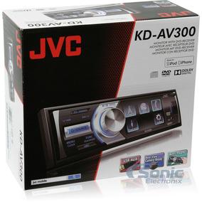 Autoestereo Dvd Jvc Kd-av300 Usb Mp3 Dvd Radio De Linea