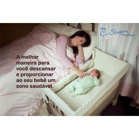 Co Sleeper Mini Berco Lateral Acoplado Cama Moises Bebe Arms