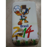 Capa Case Lg Optimus L7 2 Ii Dual P715 - Brasil / Copa 2014