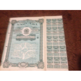 Prefeitura Municipal Taquari Apolice 30 Cupons 06 Ao 20 1948