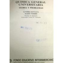 Química General Universitaria Teoría Y Problemas Fontana