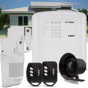 Alarme Residencial Casa Comercial Ecp Alardmax 1 Sem Fio Iso