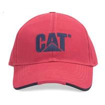 Gorra Cat Roja 100% Originnal Y Envío Gratis!!!