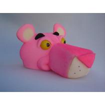 Chapéu Espuma Pantera Cor-de-rosa