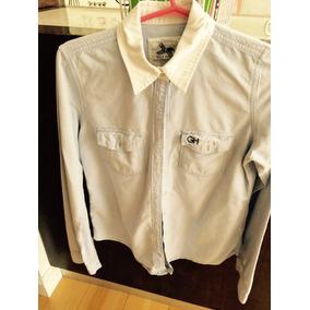 Camisa Gilly Hicks Original, M/larga,casi Nueva,t.m