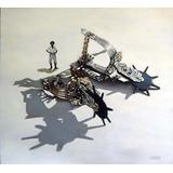 Cuadro Original De Camilo Lucarini - Espuelas Con Gaucho