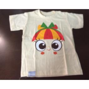 d44af327e2 Camiseta Infantil Emília Globo Marcas Sítio Do Pica-pau